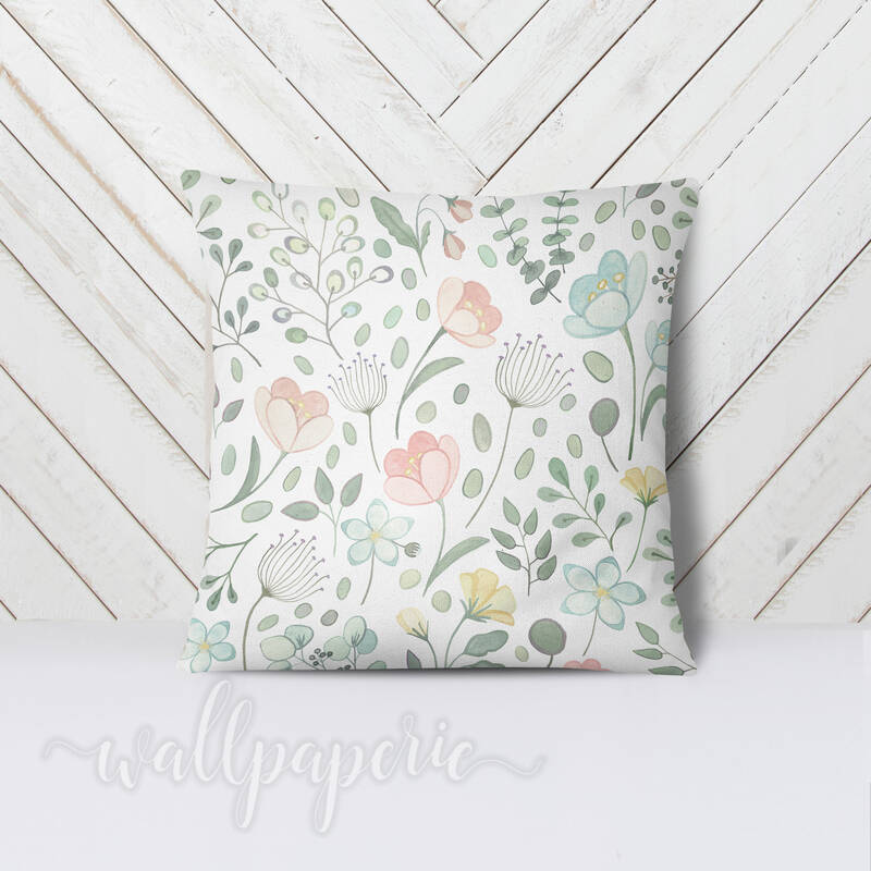 Posie Floral Pillows