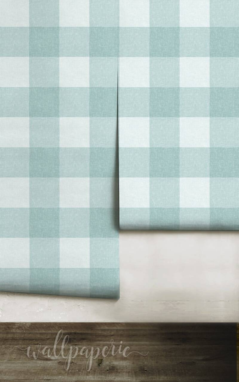 Linen Buffalo Check | Spa