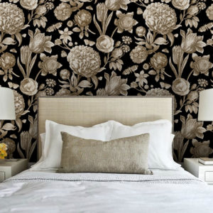Botanical Toile | Ebony